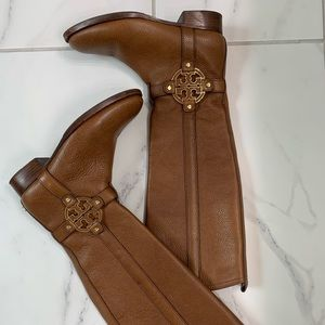 Tory Burch Amanda Riding Boot Worn Twice 7.5
